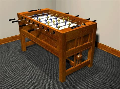 Woodworking plans foosball table Image