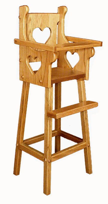Woodworking plans for doll high chair Image