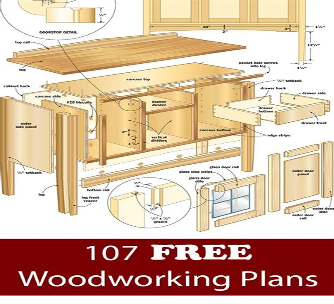 Woodworking plans free pdf Image