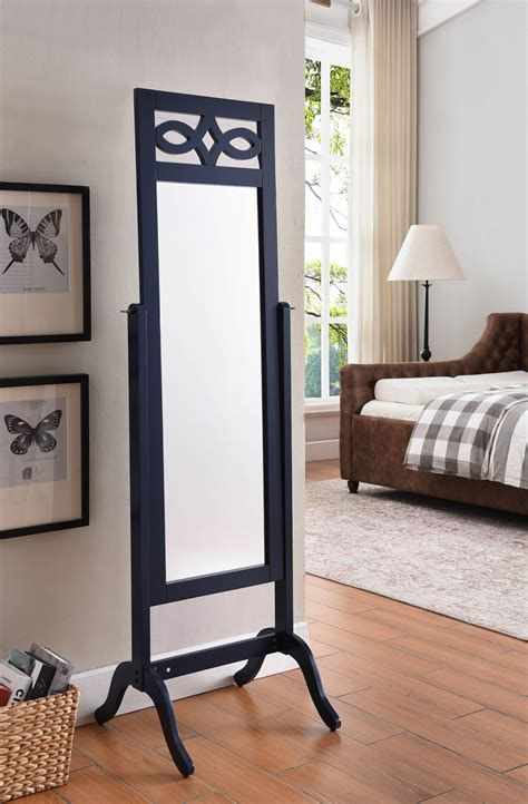 Woodworking plans free standing mirror Image