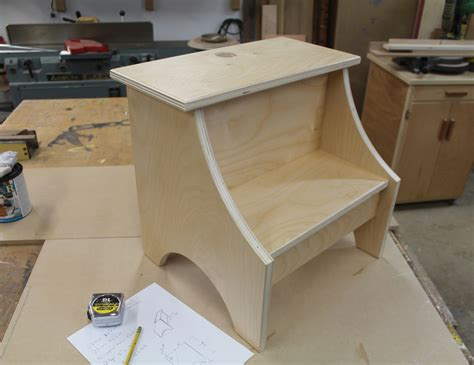 Woodworking Plans Stool Step