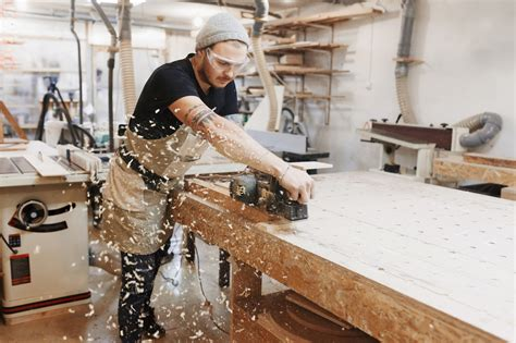 Woodworking shop tools Image