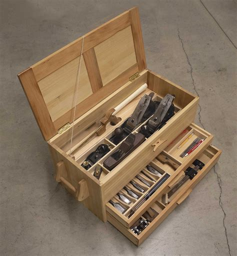 Woodworking tool chest Image