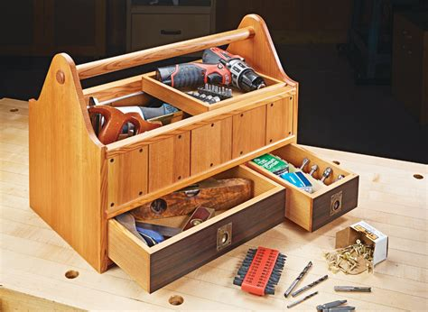 Woodworking tote cady plans Image