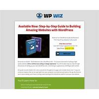 Wordpress wiz ebook guide promotional code