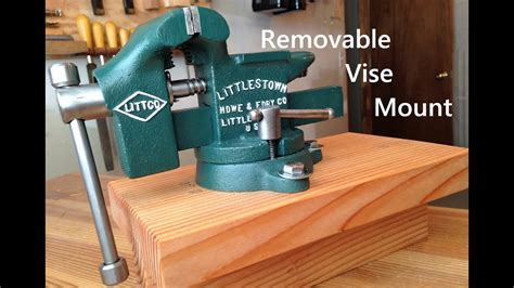 Workbench Vice Mounting Options Image