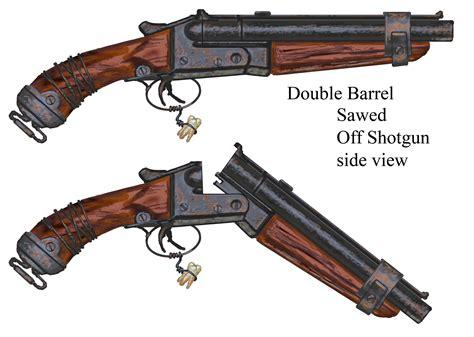 World At War Sawed Off Double Barreled Shotgun