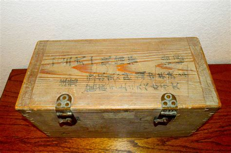 World War 2 Ammo Boxes For Sale