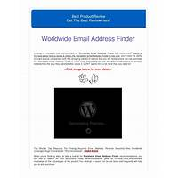 Worldwide email address finder secret