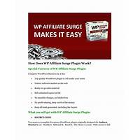 Wp affiliate surge wordpress plugin comparison