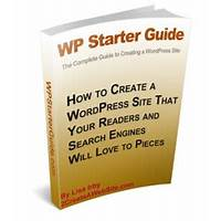 Wp starter guide wordpress tutorial discount code