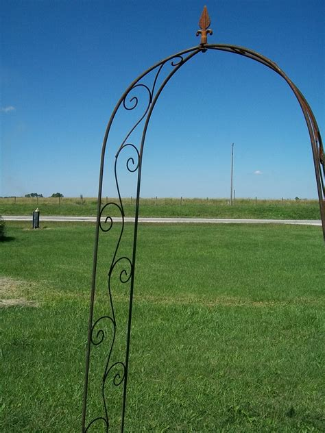 Wrought Iron Garden Arbors For Sale Image