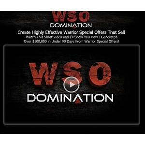 Wso domination dominate the competition! online tutorial