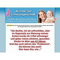 Wunder der schwangerschaft (tm) : pregnancy miracle(tm) in german! technique