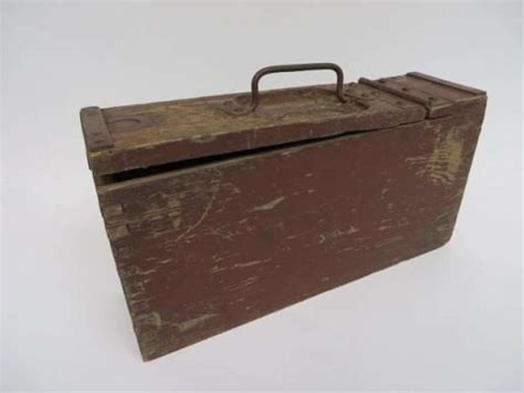 Ww1 Machine Gun Ammo Box