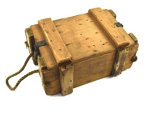 Ww2 British Wooden Ammo Box