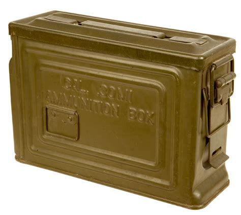 Ww2 Us 30 Cal Ammo Box