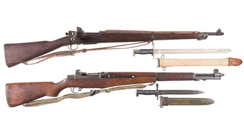 Wwii British Bolt Action Rifle With Bayonet