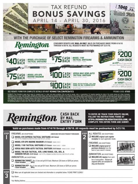 Www Remington Rebateaccess Com