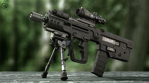 X95 Assault Rifle Data