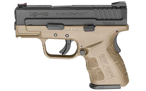 Xd Mod 2 3 Subcompact 40sw Handgun With Gripzone Handle