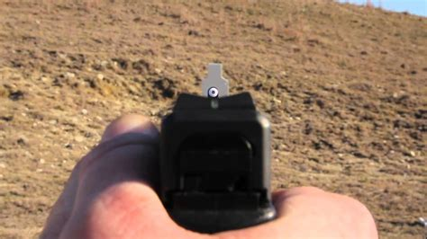 Xs How To Pistol Sight Alignment