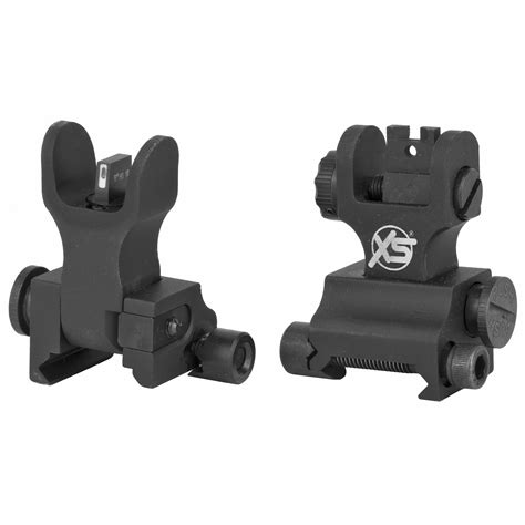 XS Sight Systems AR-15 M-16 XTI TM Xpress Threat Interdiction Sight Set - Big Dot Tritium Express