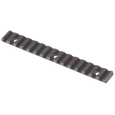 Yankee Hill Machine Co Ar 15 Picatinny Direct Thread Add On Rail Aluminum Direct Thread Add On Rail Picatinny Aluminum Black 4