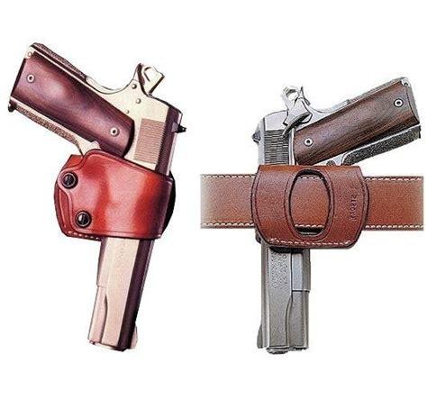Yaqui Slide Belt Holster For 1911 Pistols Black Galco Yaq212b