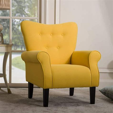 Yellow chair design Image