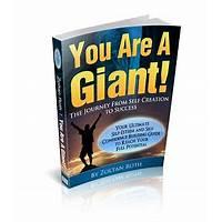You are a giant self esteem and confidence building ebook promo