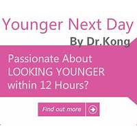 Younger next day by dr kong: anti aging e book by skin researcher! free tutorials