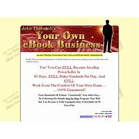 Your own ebook business by john thornhill methods
