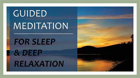 Youtube Guided Mindfulness Meditation Sleep