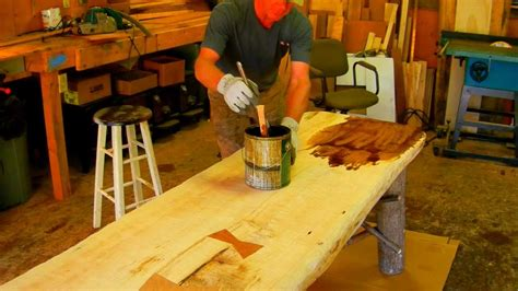 Youtube How To Build Rustic Furniture Image