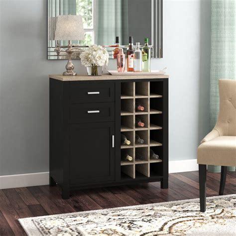 Zahara Bar Cabinet with Wine Storage