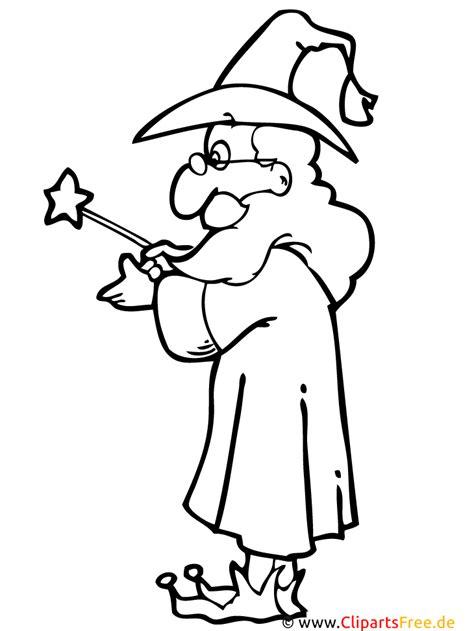 Zauberer Malvorlagen Ausdrucken