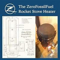 Discount zero's ultra efficient wood burning rocket stove heater plans