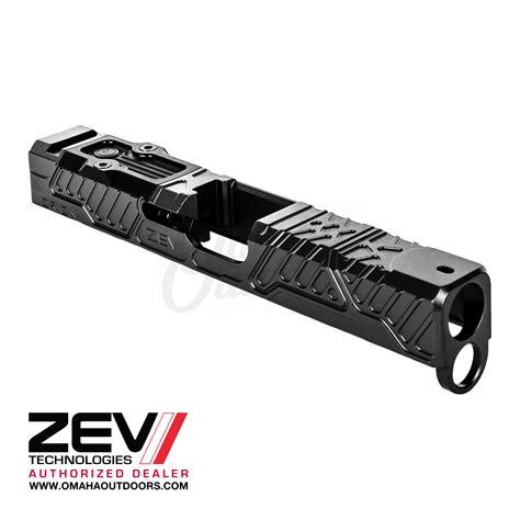 Zev Technologies Orion Slides For Gen 4 Glock Orion Stripped G19 Gen 4 Slide Black 9mm