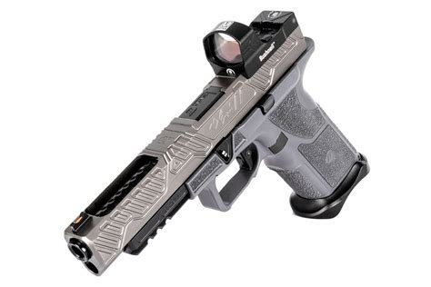 Zev Technologies Oz9 Competition 9mm W Bushnell First Strike 20 Reflex Oz9 Competition 9mm Gray Woptic