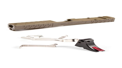 Zev Technologies Socom Gen 3 Pistol Slide G19 5 Star