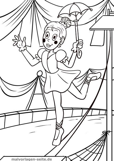 Zirkus Bilder Malvorlagen